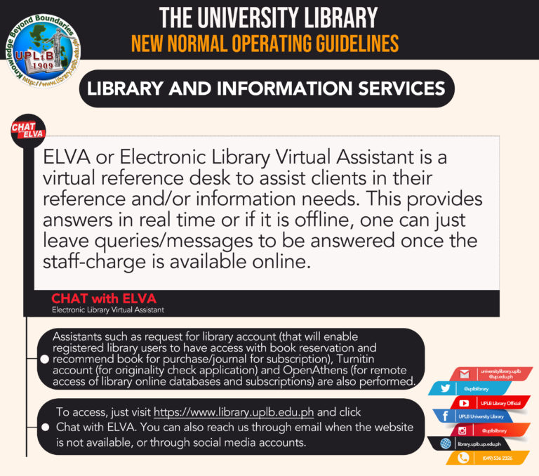 library and info services big