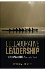 Collaborative leadership six influences that matter most